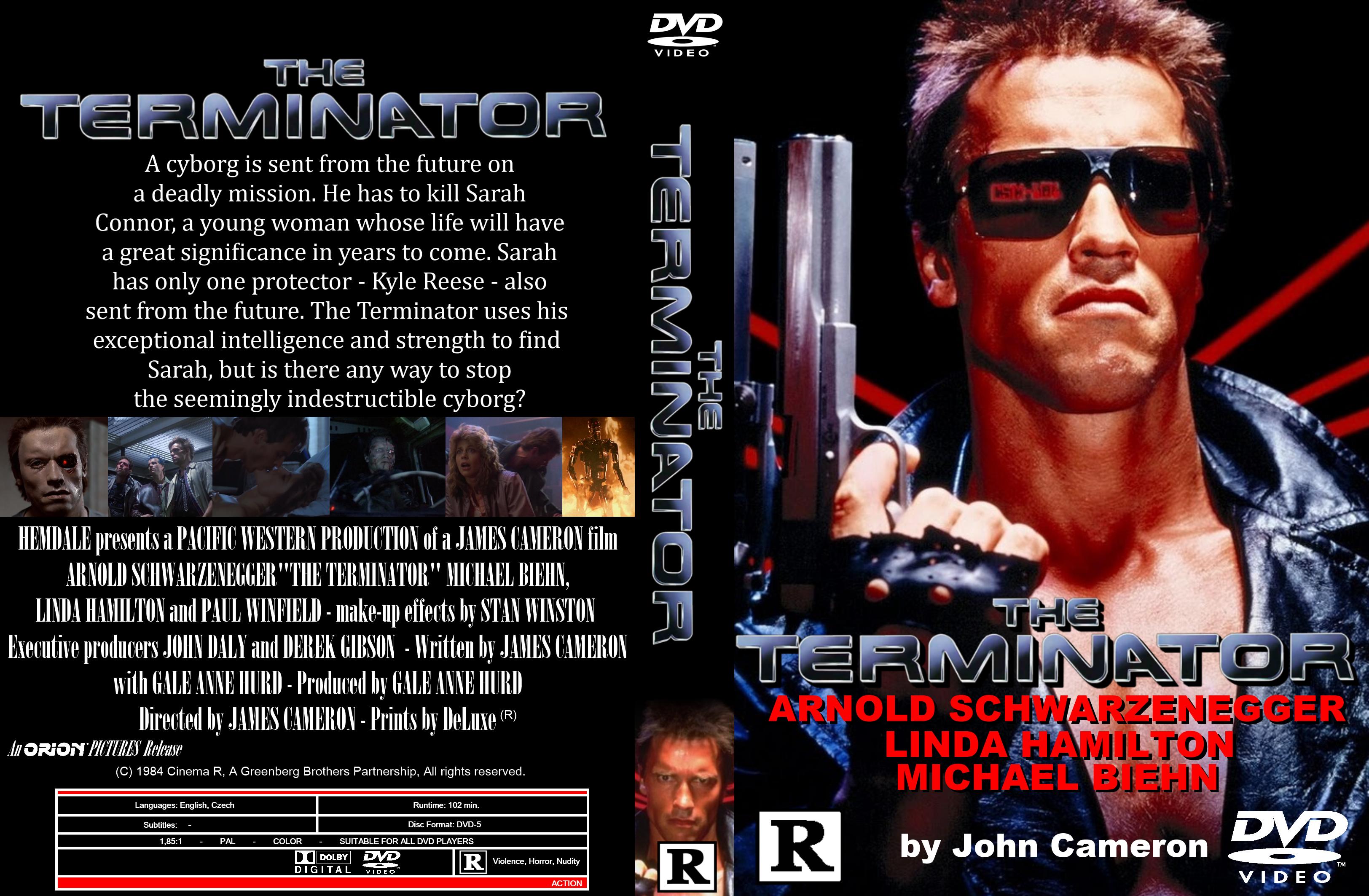 Terminator Bluray Custom Cover by elmundodedata on DeviantArt