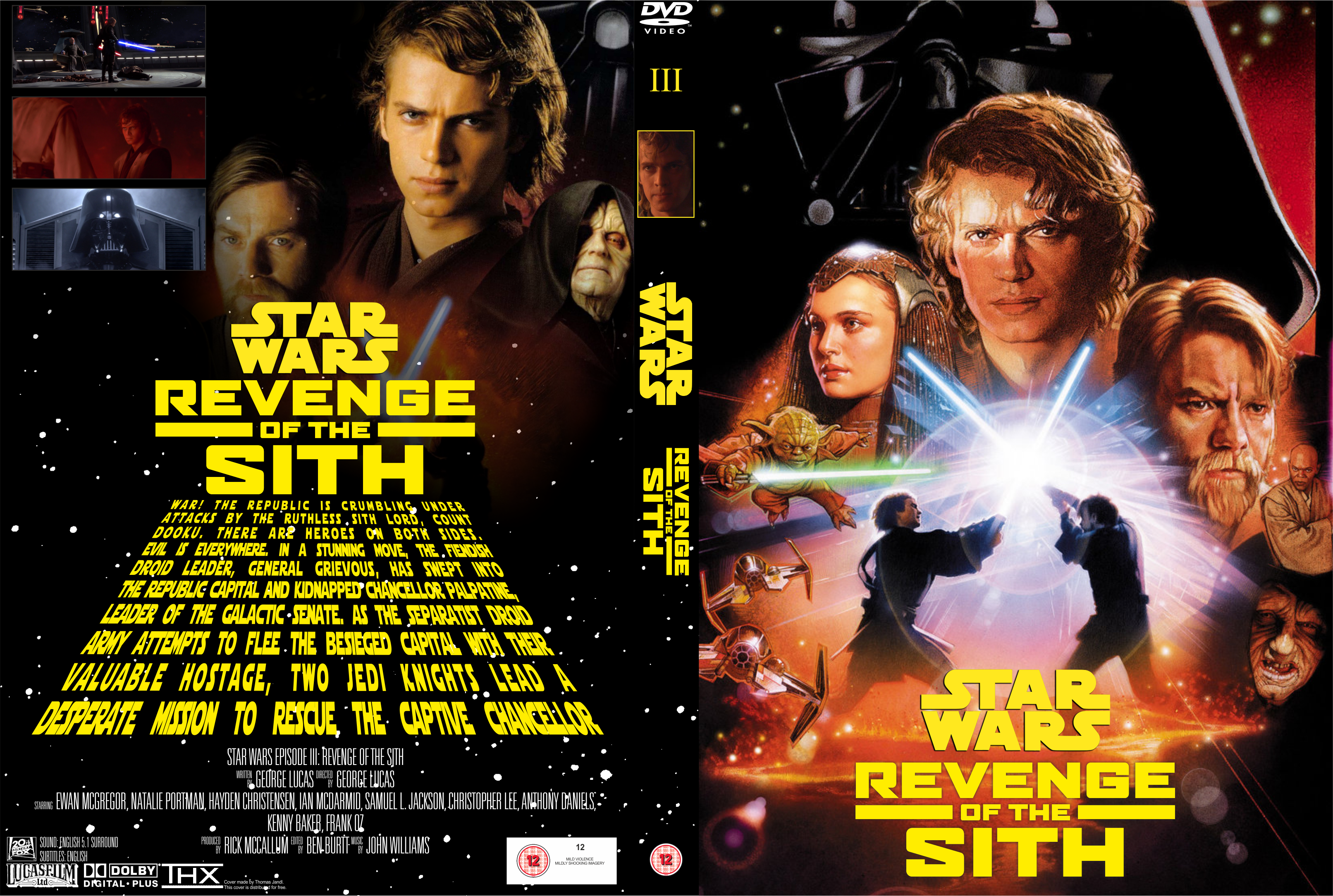 Star Wars Episode Iii Revenge Of The Sith By Wario64i On Deviantart