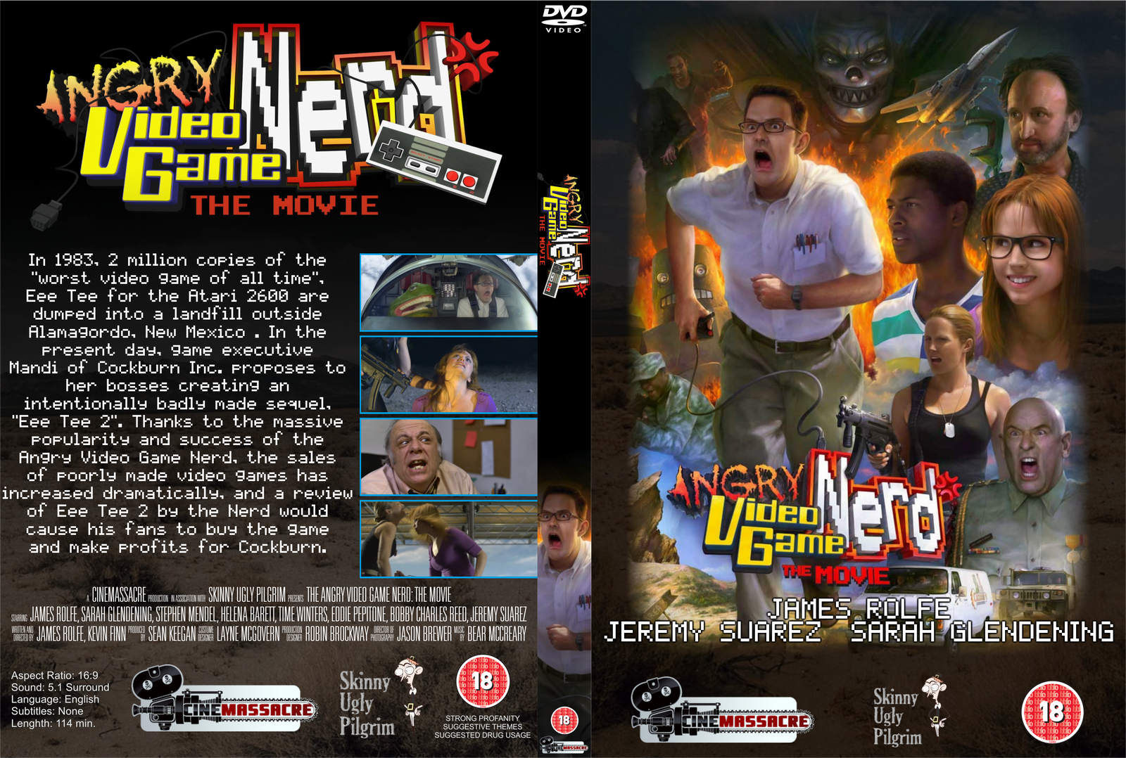 Angry Video Game Nerd DVD Set Volumes 1-9 (12 discs) plus ...