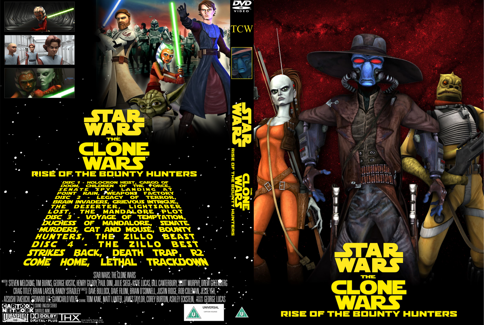 star wars the clone wars rotbh dvd cover by wario64i on deviantart