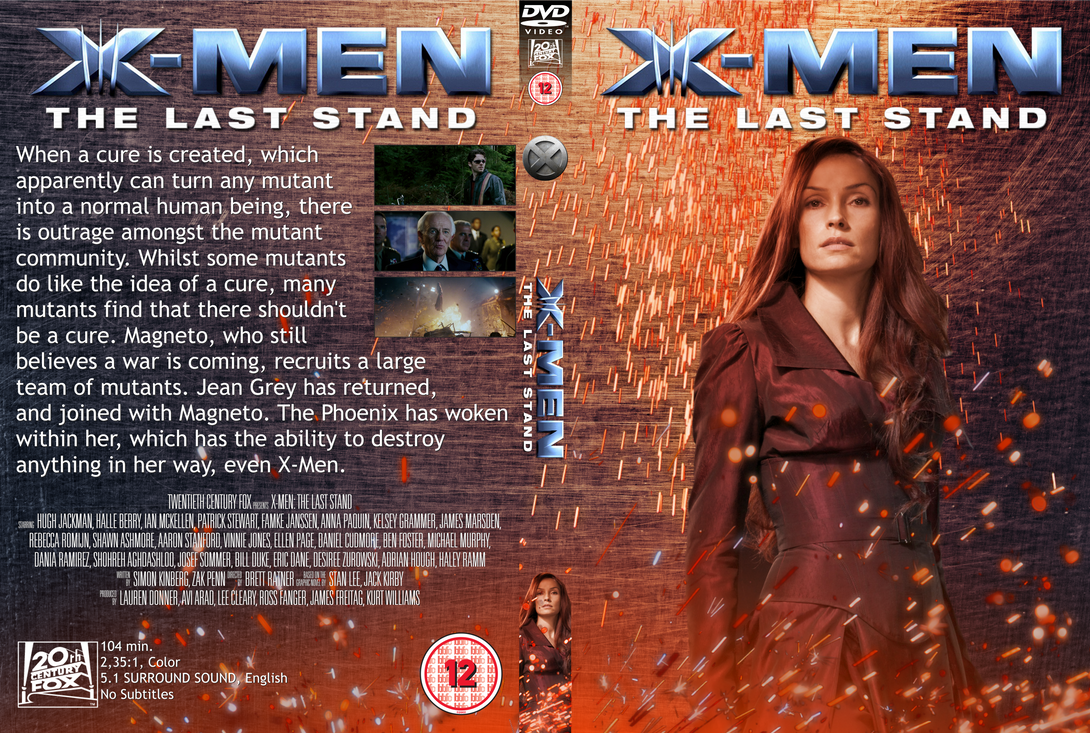 X Men Dvd Cover: The Last Stand DVD Cover By Wario64I On DeviantArt