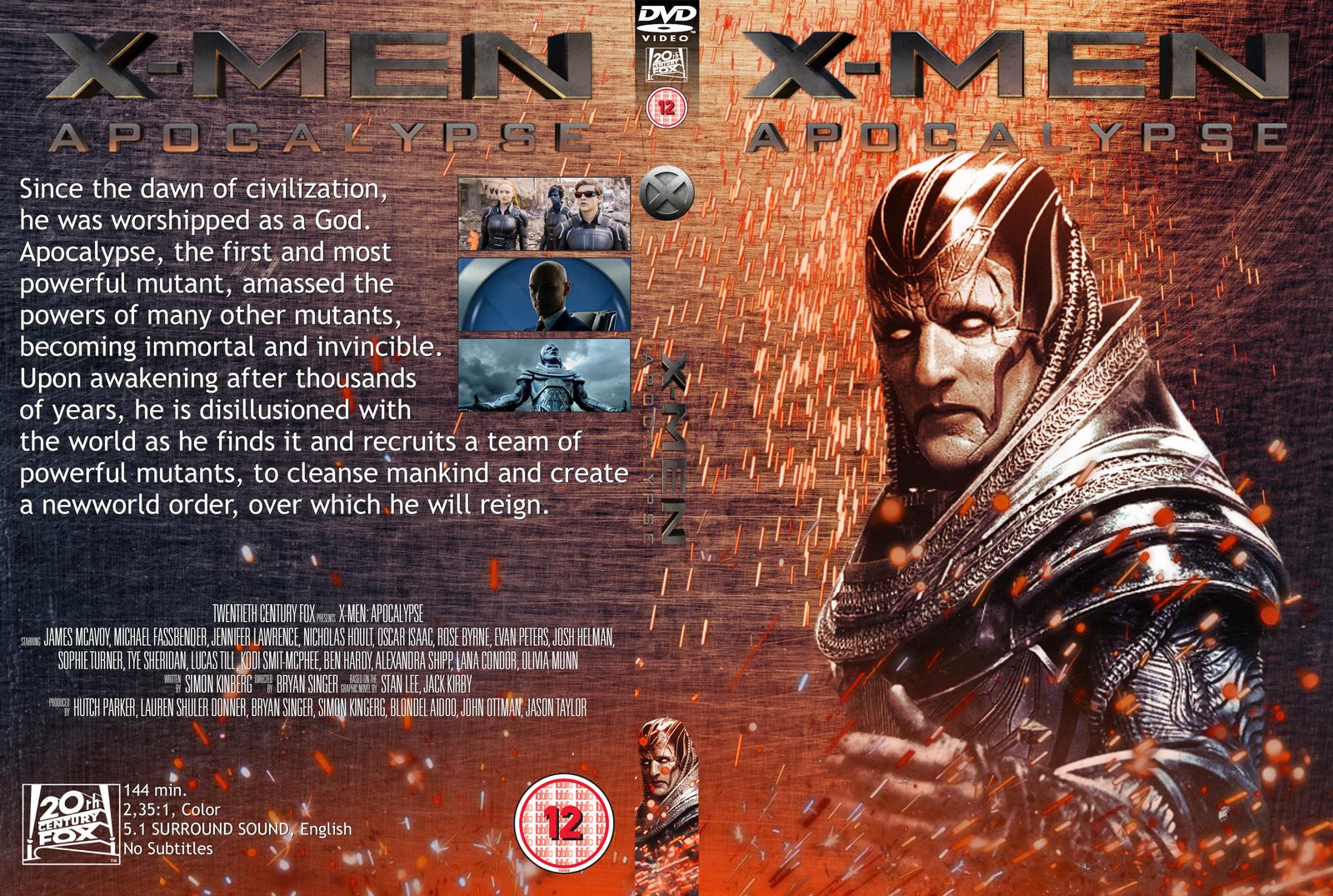 X Men Dvd Cover: Apocalypse DVD Cover By Wario64I On DeviantArt