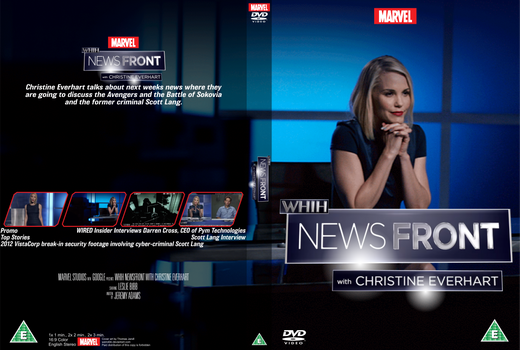 WHiH NewsFront with Christine Everhart DVD cover
