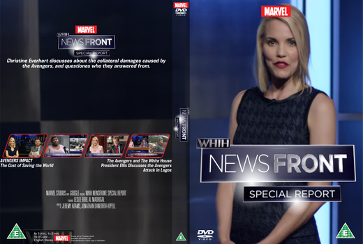 WHiH NewsFront - Special Report DVD cover