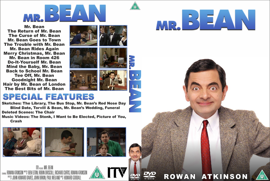 Mr Bean Dvd Cover By Wario64i On Deviantart