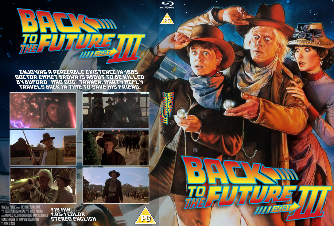 Back to the Future: Part III BD Standard Case Cove by Wario64I on