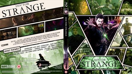 {Infinity Saga} Doctor Strange BD Cover by Wario64I
