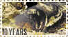 10 Years Stamp by BrutalDyingBreed