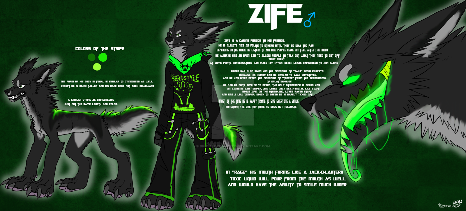 Zife Reference by BrutalDyingBreed