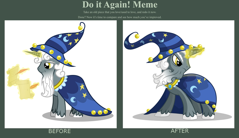 Draw This Again Star Swirl The Bearded By Emkay Mlp On Deviantart