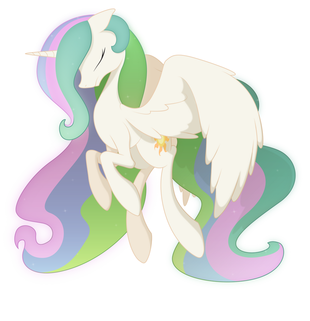 celestia is like so totally cool and stuff