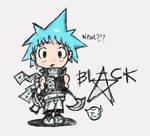 +Black Star Chibi+