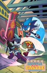 Sonic Universe #95 Fan Restoration Edition by rikdraws
