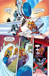 Sonic Universe #95 Fan Restoration Edition Page 2 by rikdraws