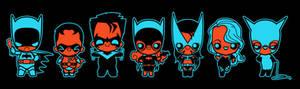 chibi bat family