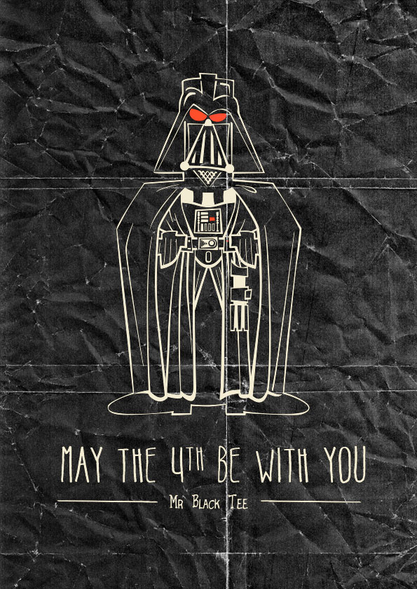May The 4th Be With You by marisolivier