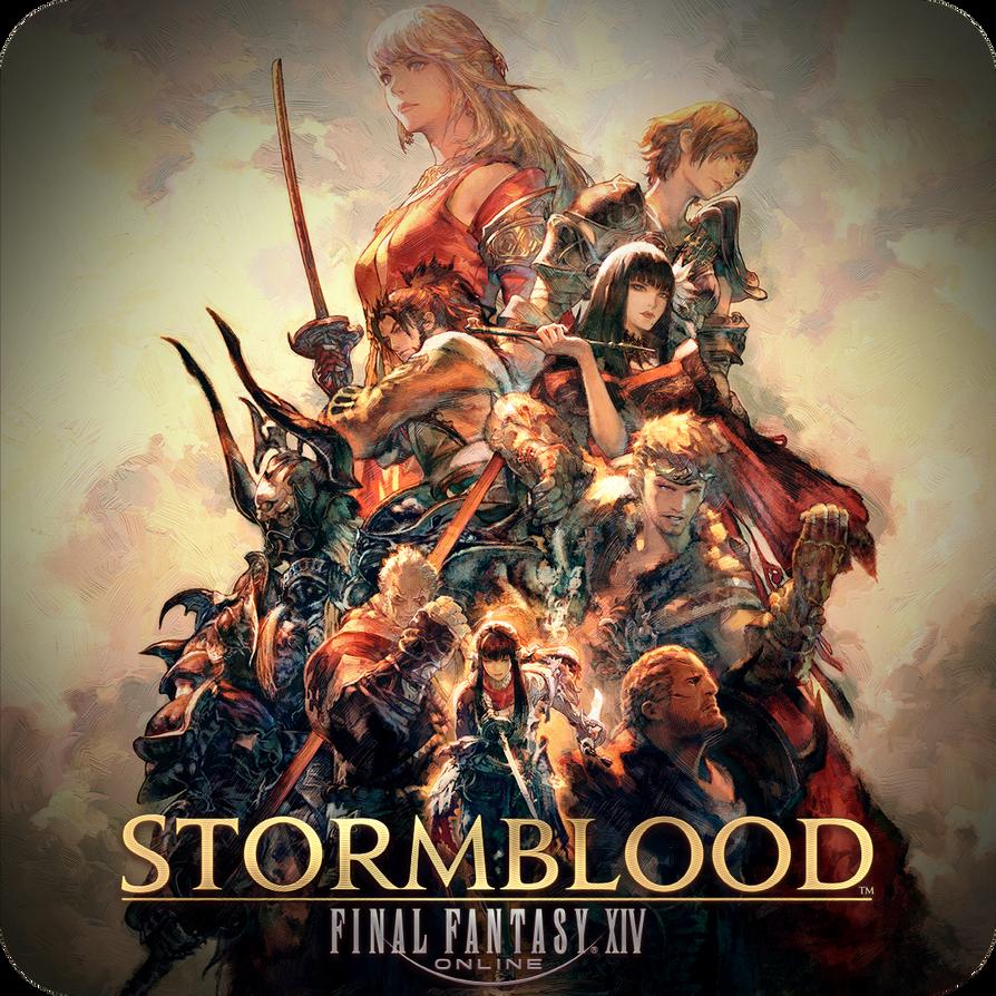 FFXIV Stormblood Icon By Simochanny