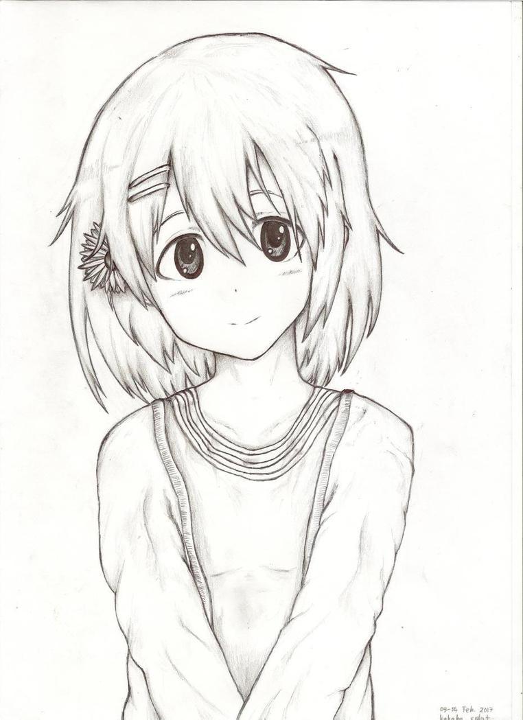 Line Art Hirasawa Yui : Yui hirasawa k on by hahahasplat deviantart