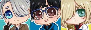 [FREE TO USE] Yuri on Ice Icons