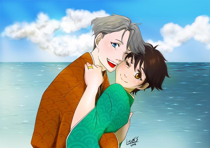 Fanart Victor and Yuri