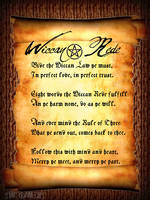 Wiccan Rede by The-Bandit-Leigh