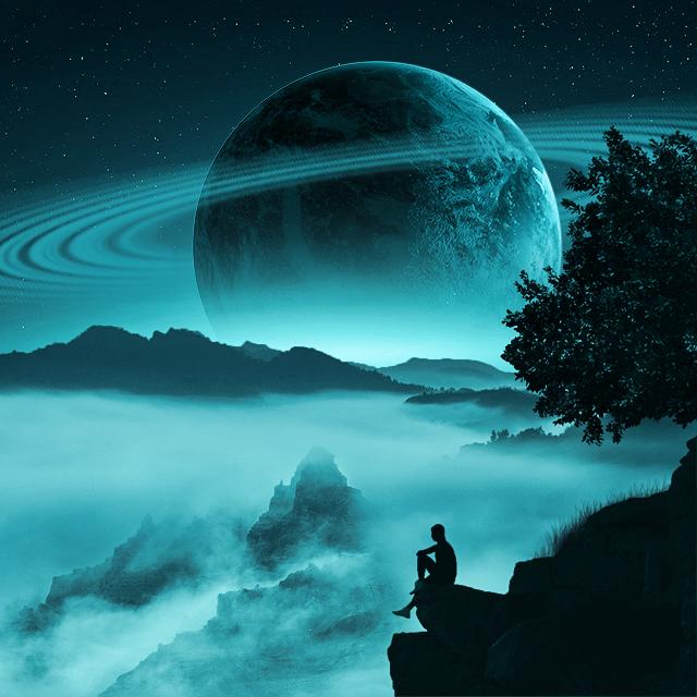 Photo Manipulation (Big Saturn)