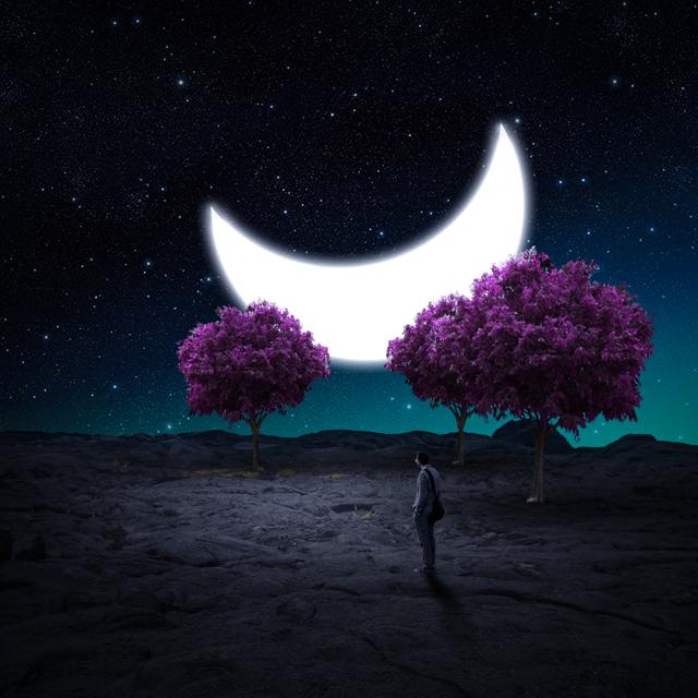 Photo Manipulation (Moon Drop)