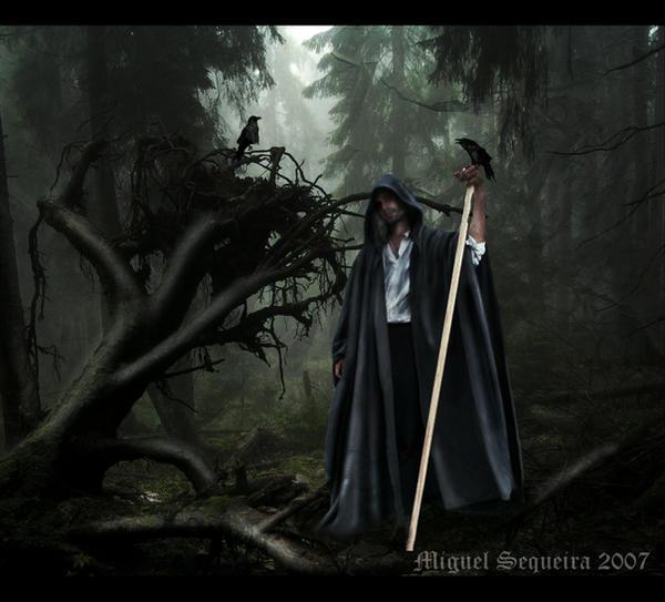 Odin the Grimnir by Asgard-Raven