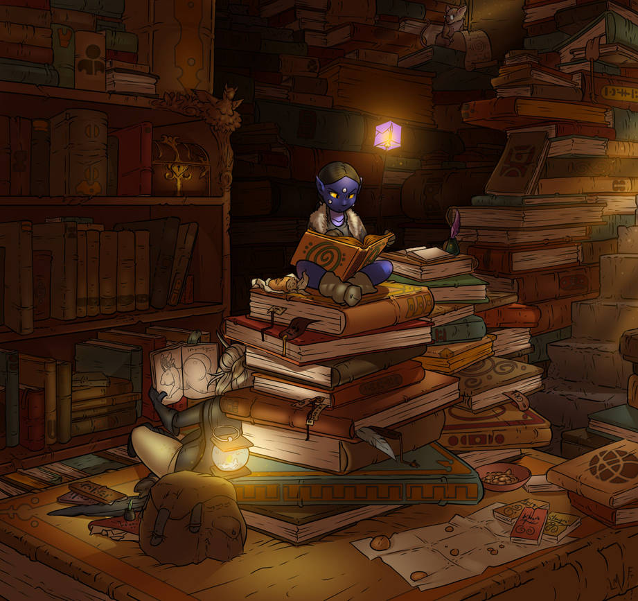 Art Collab- Magical Research