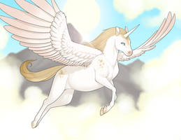 Flappy Unicorn by Lilly-moo
