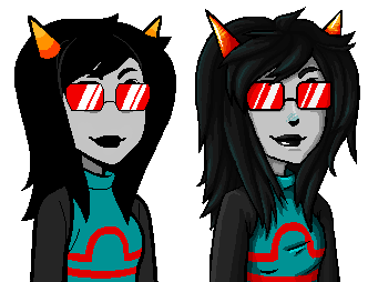 Latula Sprite Edit Comparison By Piggyempire On Deviantart