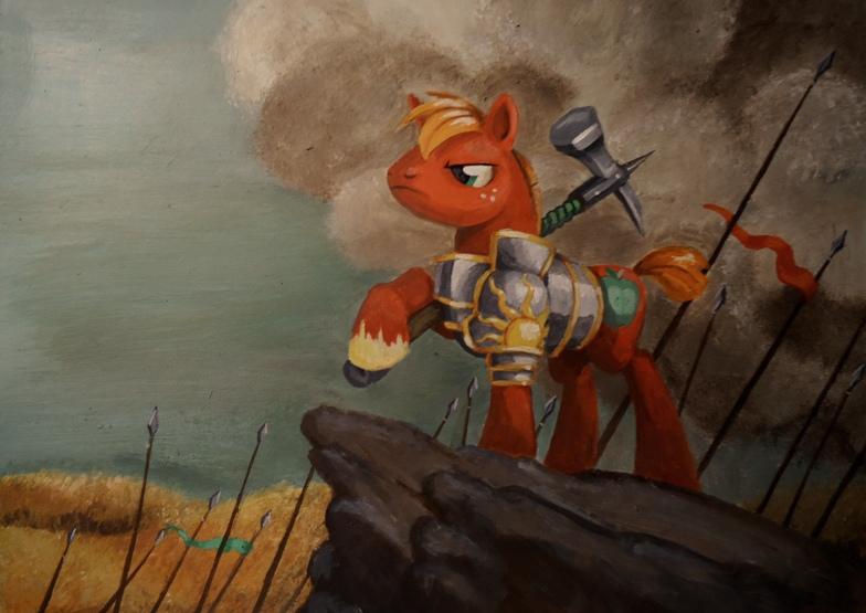 Captain Big MacIntosh by Graffegruam