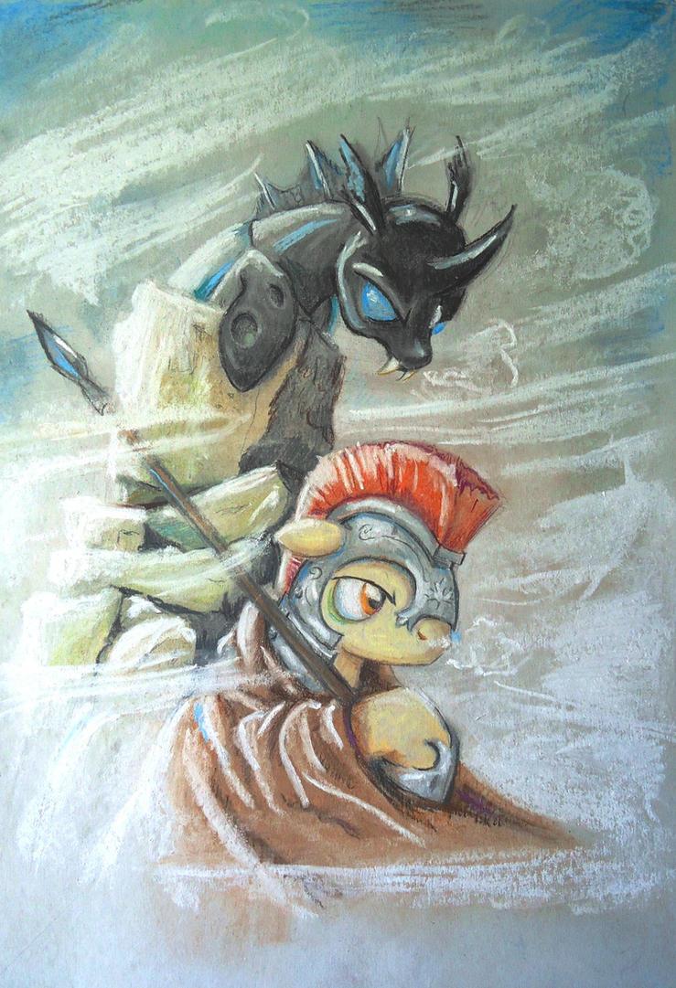 Ambush at Inuksuk Point - BronyCAN contest entry by Graffegruam
