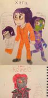 Minecraft Story mode Doodles