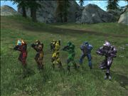 rainbow spartans by vaultboy28