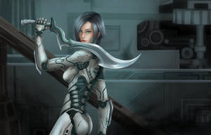 Cyborg by vluffire