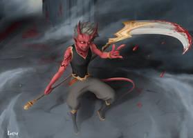 Devil Boy by vluffire