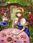 Alice Margatroid Tea party
