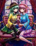 Komeiji Koishi and Satori