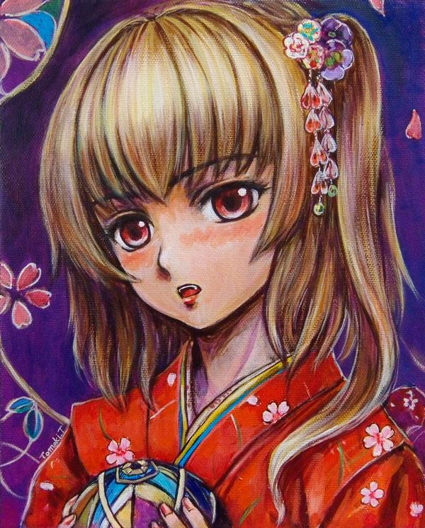 Kimono_Flandre by tafuto001
