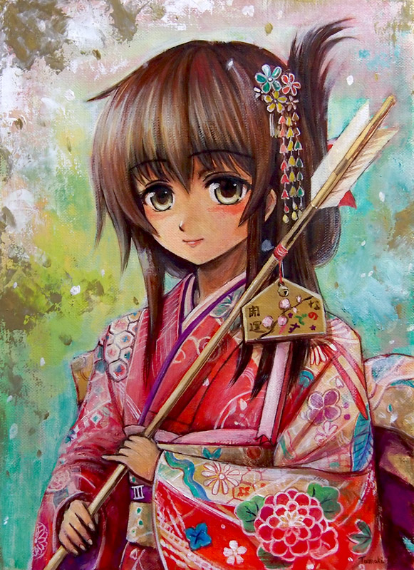 Furisode_Inazuma by tafuto001