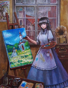 rainy_atelier by tafuto001
