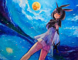 Moon_Al-mi'raj by tafuto001