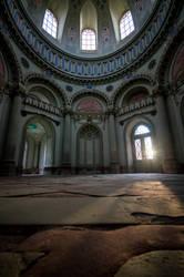 Schwetzingen Mosque Interior Sunrays