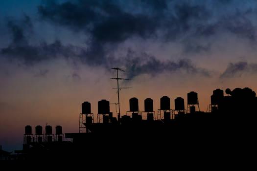 Roofs Of East Jerusalem Sunrise