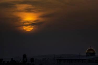 Sunset East Jerusalem
