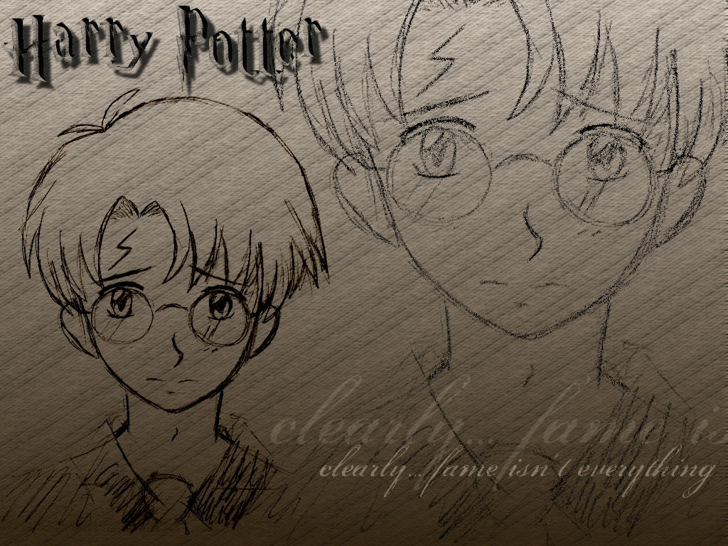 Harry Potter fanart wallpaper by nekozuki