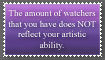 Watchers and Ability Stamp by mirandooom