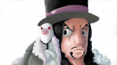 Rob Lucci (he looks like doge omf) by PrincesssLuna