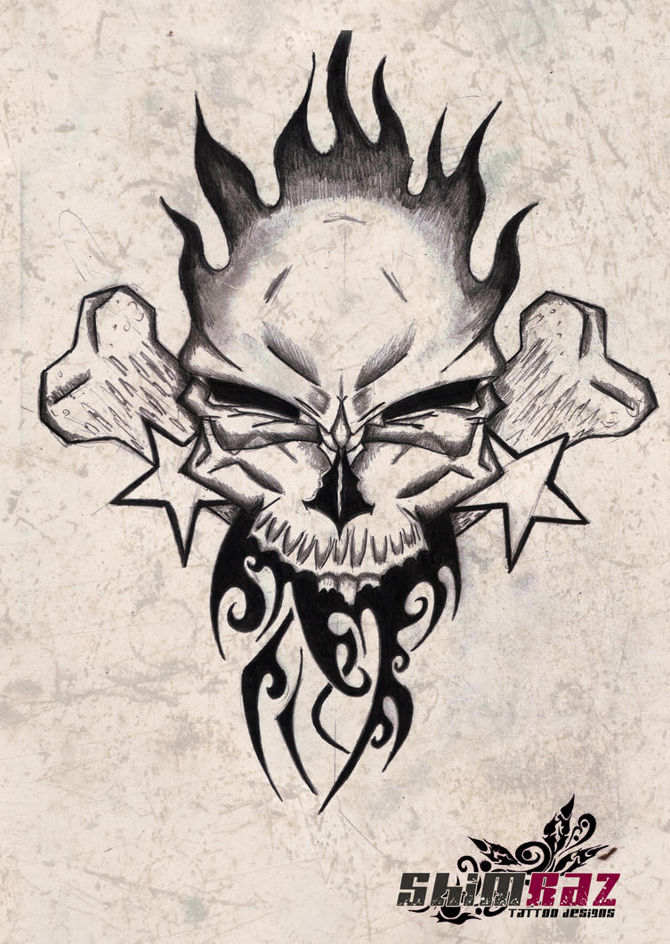 skull tattoos free designs to print